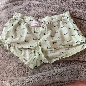 Sailor Dog PJ Shorts